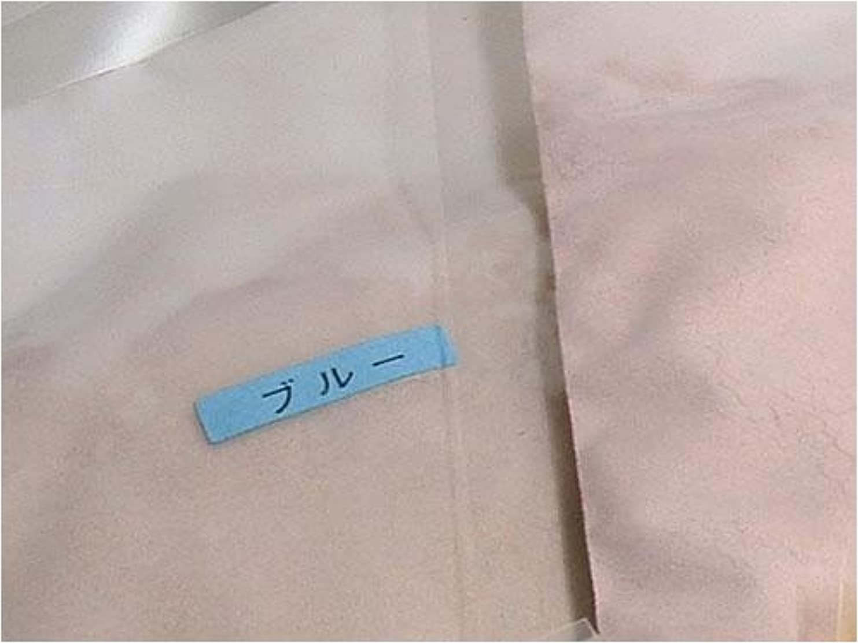 かご慢な小切手薫寿堂のお香制作セット お香パウダー ブルー 単品