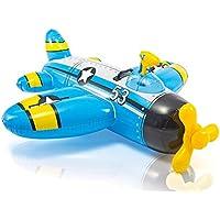 【Warbird Pool Float】 飛行機 フロート (ブルー) 浮き輪 ボート 海 プール 海水浴 ビーチ