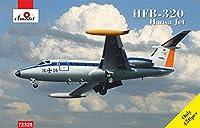 Aモデル 1/72 ドイツ空軍 ハンザジェットHFB320双発輸送機 プラモデル AM72328