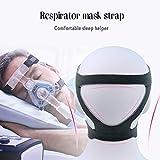 注無臭の耐久性のあるCPAP用ヘッドギアマスク弾性繊維ヘッドバンドユニバーサル鼻用マスクフルフェイスマスクヘッドベルト医療用