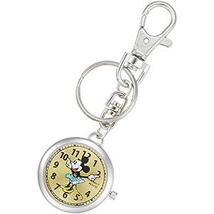 [ディズニー]Disney 懐中時計 キーチェーン ミニーマウス MKN007-2 【並行輸入品】
