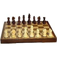 Folding Wood Chess Set, 12