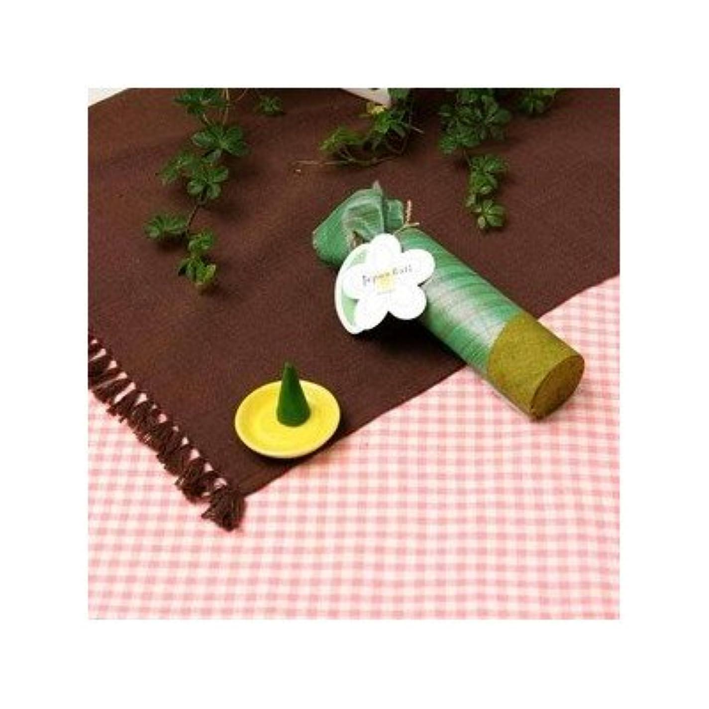 砂の超えて優勢お香/インセンス 〔マンゴーの香り コーンタイプ10個入り〕 バリ島製 「Jupen Bari/ジュプンバリ」[通販用梱包品]