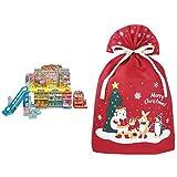 リカちゃん リカペイでピッ! おかいものパーク + インディゴ クリスマス ラッピング袋 グリーティングバッグ4L ワンダーランド レッド XG158