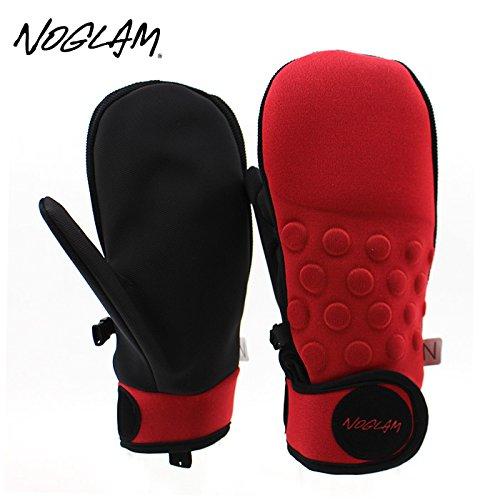 (ノーグラム)NOGLAM 2015年モデルnog-145 グローブ THE MIXX MITTEN/RED/BLACK 日本正規品 ミトン M