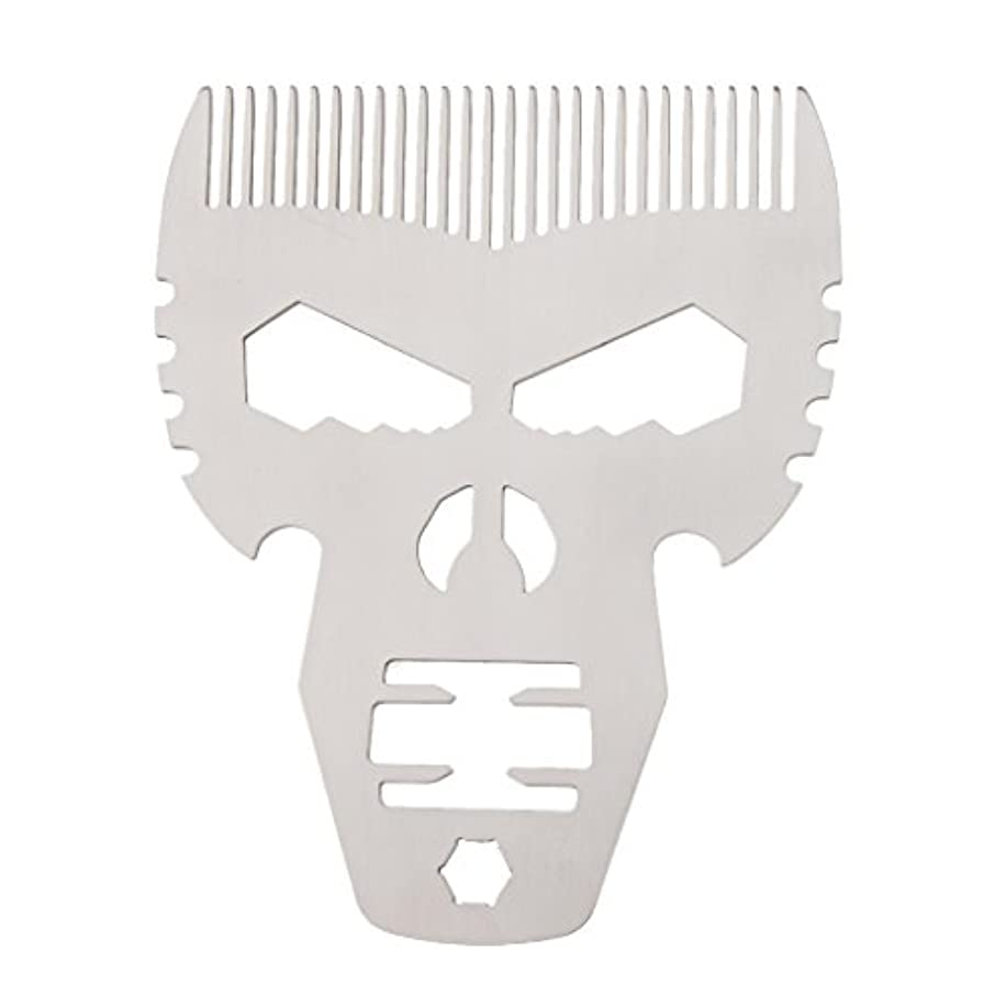 水星フレキシブルロッジビアードコーム 男性 口髭ブラシ