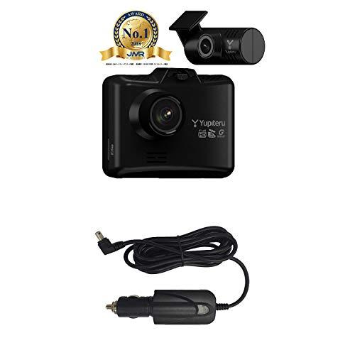 【特定WEB販売店限定モデル】 ユピテル 前後2カメラ搭載ドライブレコーダー WDT600 (シガープラグコード OP-E1109)セット