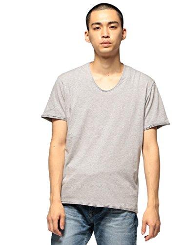 (ビームス) BEAMS/天竺 カットオフ Uネック Tシャツ 11040324823