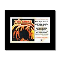 KINKS - Village Green Preservation Society Matted Mini Poster - 21x13.5cm