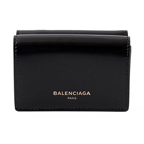 [バレンシアガ] BALENCIAGA 三つ折り 財布 490621 DRY0N レザー ウォレット