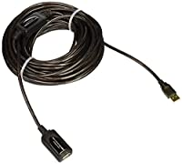 Monoprice 49ft 15M USB 2.0 A Male to A Female Active Extension / Repeater Cable (Kinect & PS3 Move Compatible Extension) [並行輸入品]