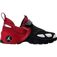 (ナイキ)Nike キッズカジュアルシューズ・靴 Boys' Grade School Jordan Trunner LX OG Training Shoes Black/White/Gym Red US 6.5 ユニセックス [並行輸入品]