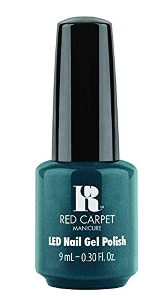 日の出神聖ルビーRed Carpet Manicure - LED Nail Gel Polish - High Society - 0.3oz/9ml