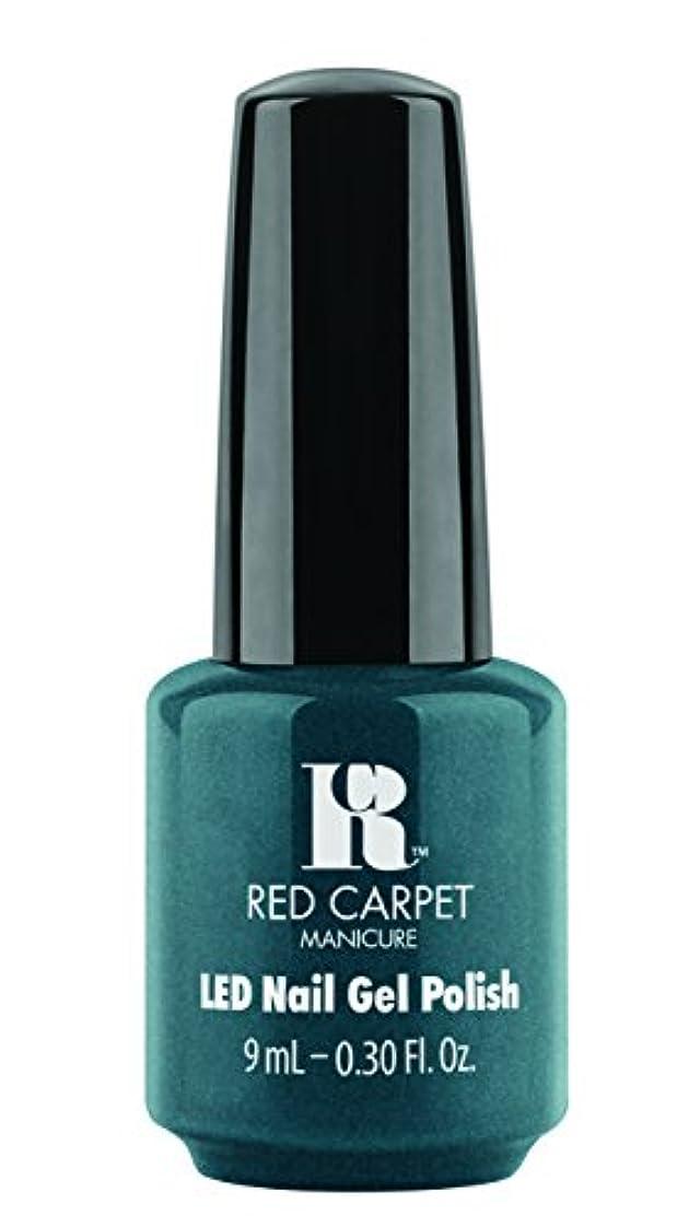 ロードブロッキングラブ宅配便Red Carpet Manicure - LED Nail Gel Polish - High Society - 0.3oz/9ml