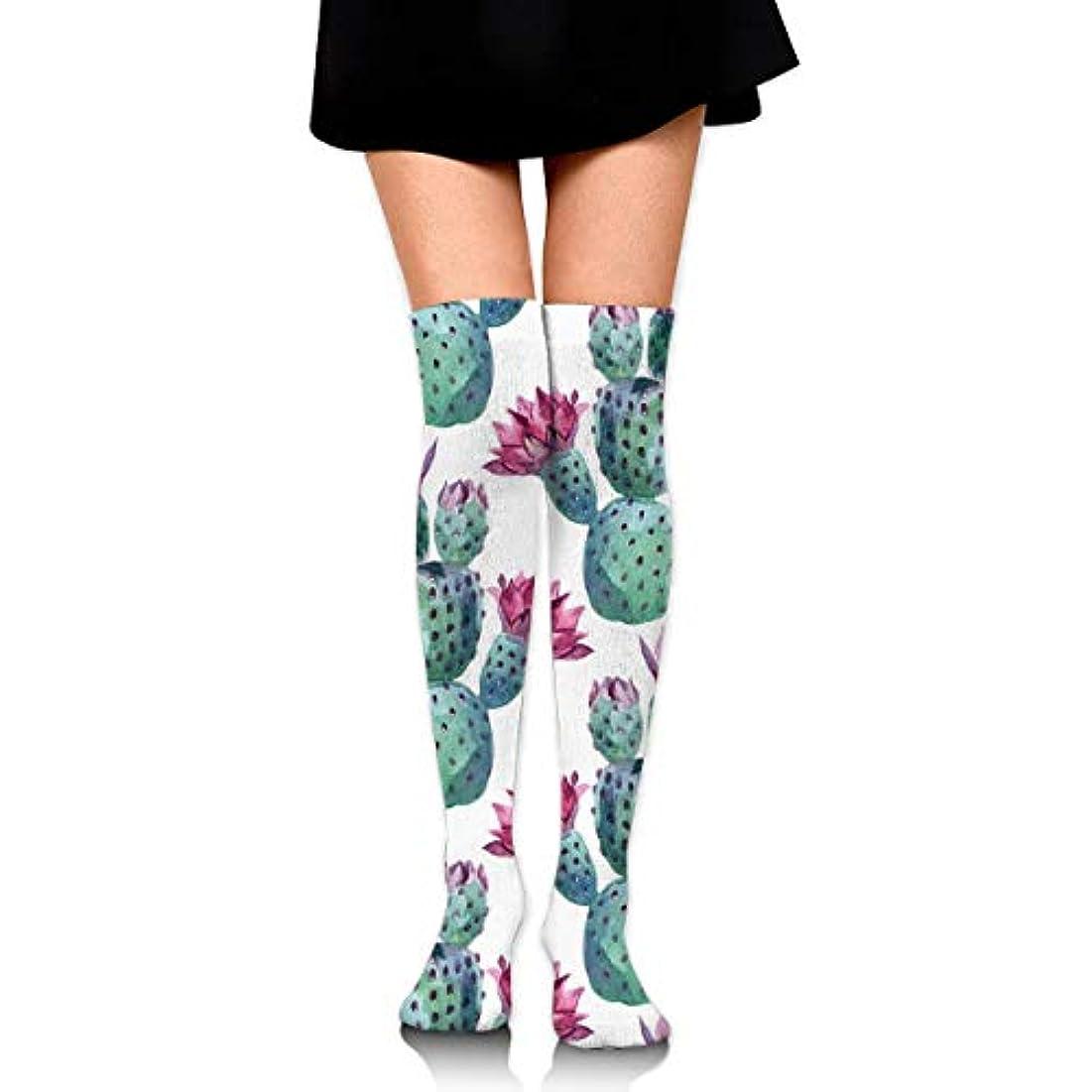 先見の明ラフ従者MKLOS 通気性 圧縮ソックス Breathable Thigh High Socks Over Exotic Psychedelic Print Compression High Tube Thigh Boot Stockings...