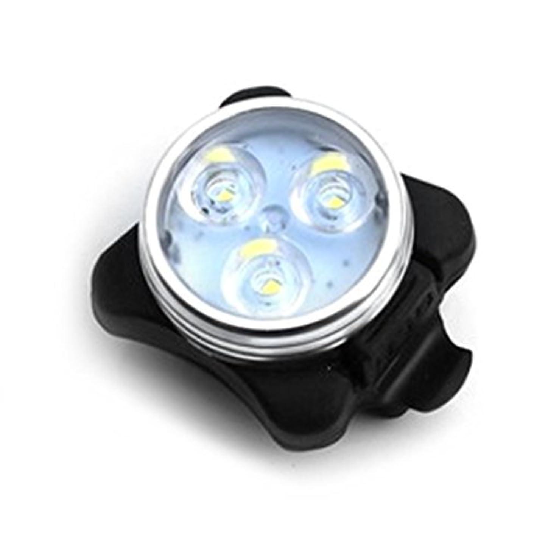 達成する印象派勝利した自転車ライト LEDライト ヘッドライト USB充電式 防水 軽量 高輝度 USB充電式 懐中電灯 自転車前照灯 ロードバイク マウンテンバイク適用 テールライト付(白&赤)