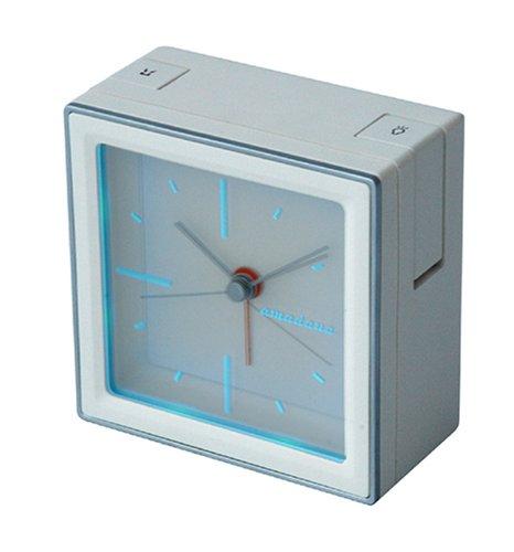 amadana 目覚まし時計 ホワイト CZ-135-W