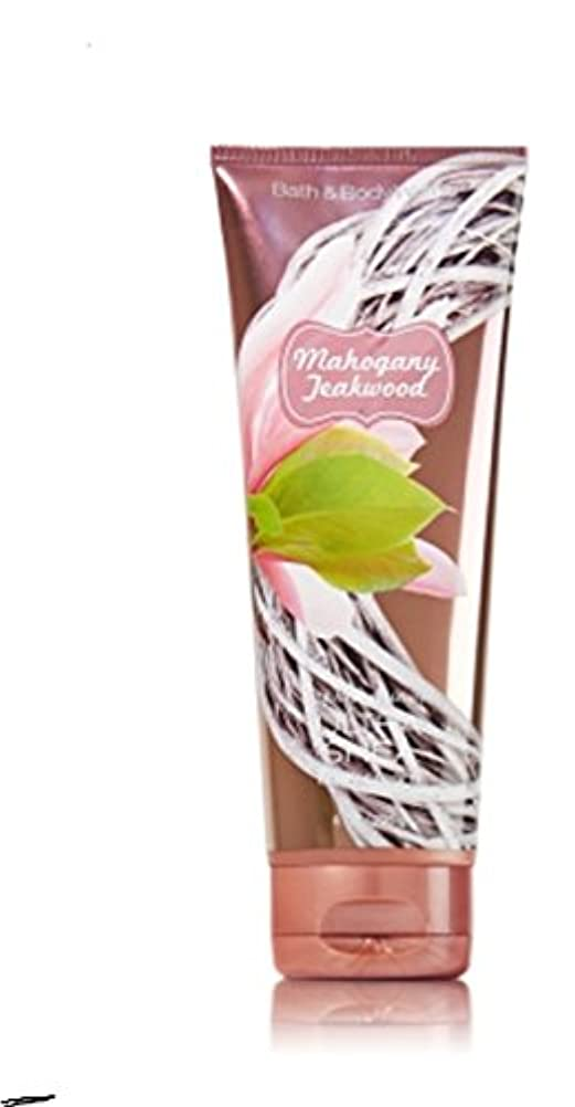 植生風刺ラフレシアアルノルディ1 Bath & Body Works Mahogany Teakwood 24hr Ultra Shea Body Cream / Lotion by Bath & Body Works [並行輸入品]