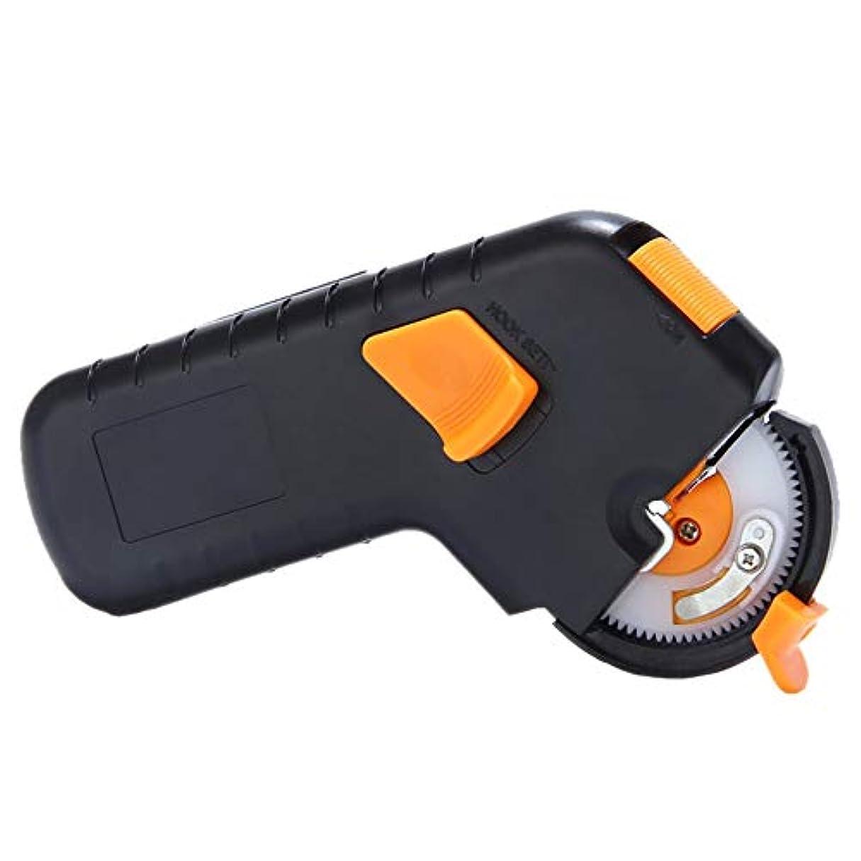 楽しい競合他社選手死の顎VICOODA 釣り針結び器 ハンドル式 自動 乾電池式(電池なし) 滑り止め 釣りフック 内掛け結びが楽々可能