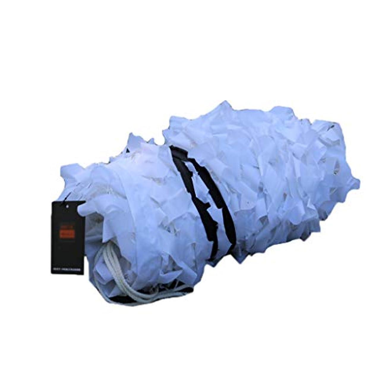 スペクトラム不快な多くの危険がある状況ピュアホワイトカモフラージュネット、スノーカモフラージュネット、サンシェードネットシェーディングネット (サイズ さいず : 6 * 6m)
