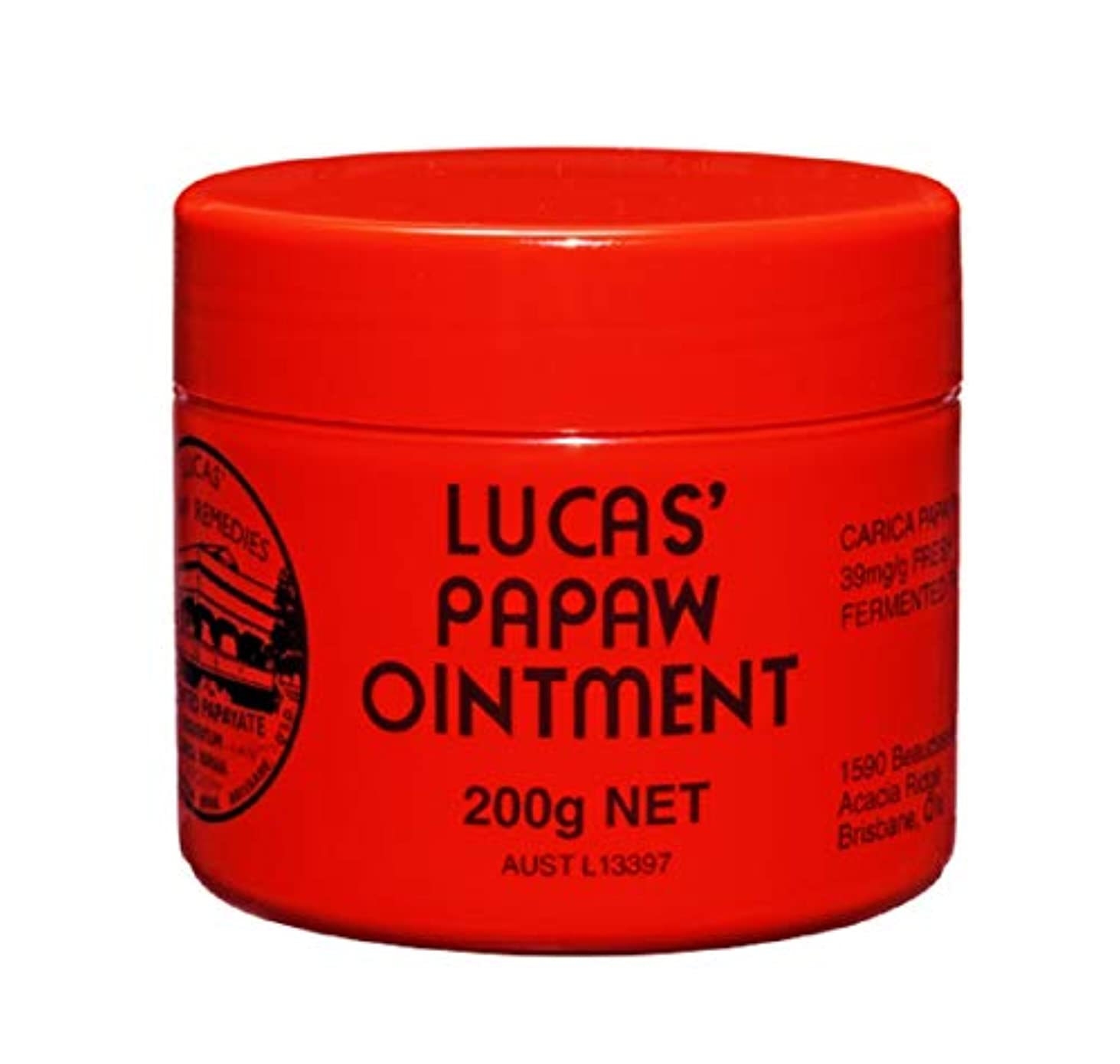 混合見かけ上ワイン[Lucas' Papaw Ointment] ルーカスポーポークリーム 200g