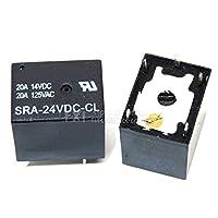 5 ピース/ロットリレー SRA-24VDC-CL リレー 5 ピン 24 V DC 高品質 T74