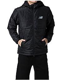 new balance(ニューバランス)' パデッドジャケット (BK) ブラック トレーニングシャツ (JMJP7609)