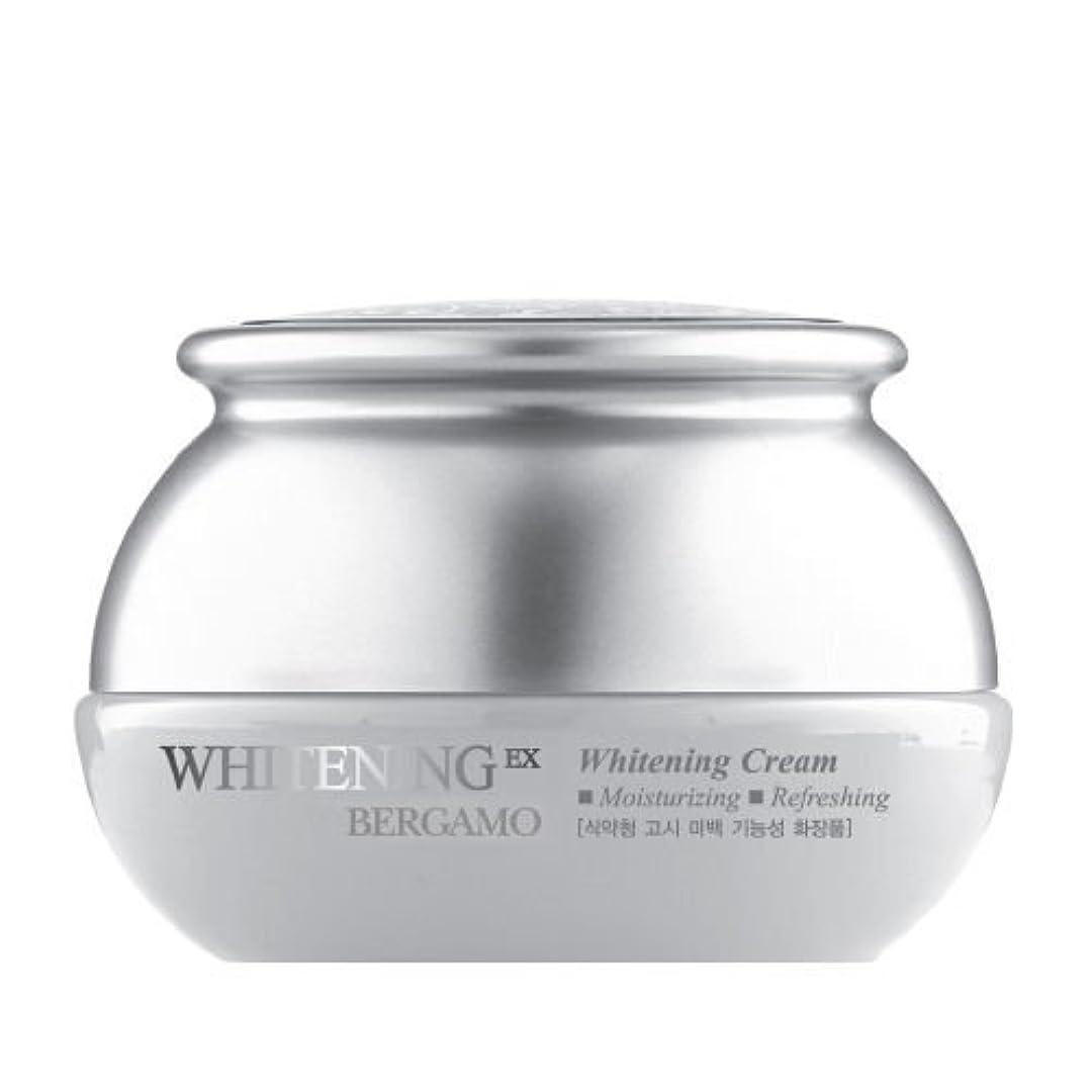 泥沼漂流着飾るベルガモ[韓国コスメBergamo]Whitening EX Wrinkle Care Cream ホワイトニングEXリンクルケアクリーム50ml しわ管理 [並行輸入品]