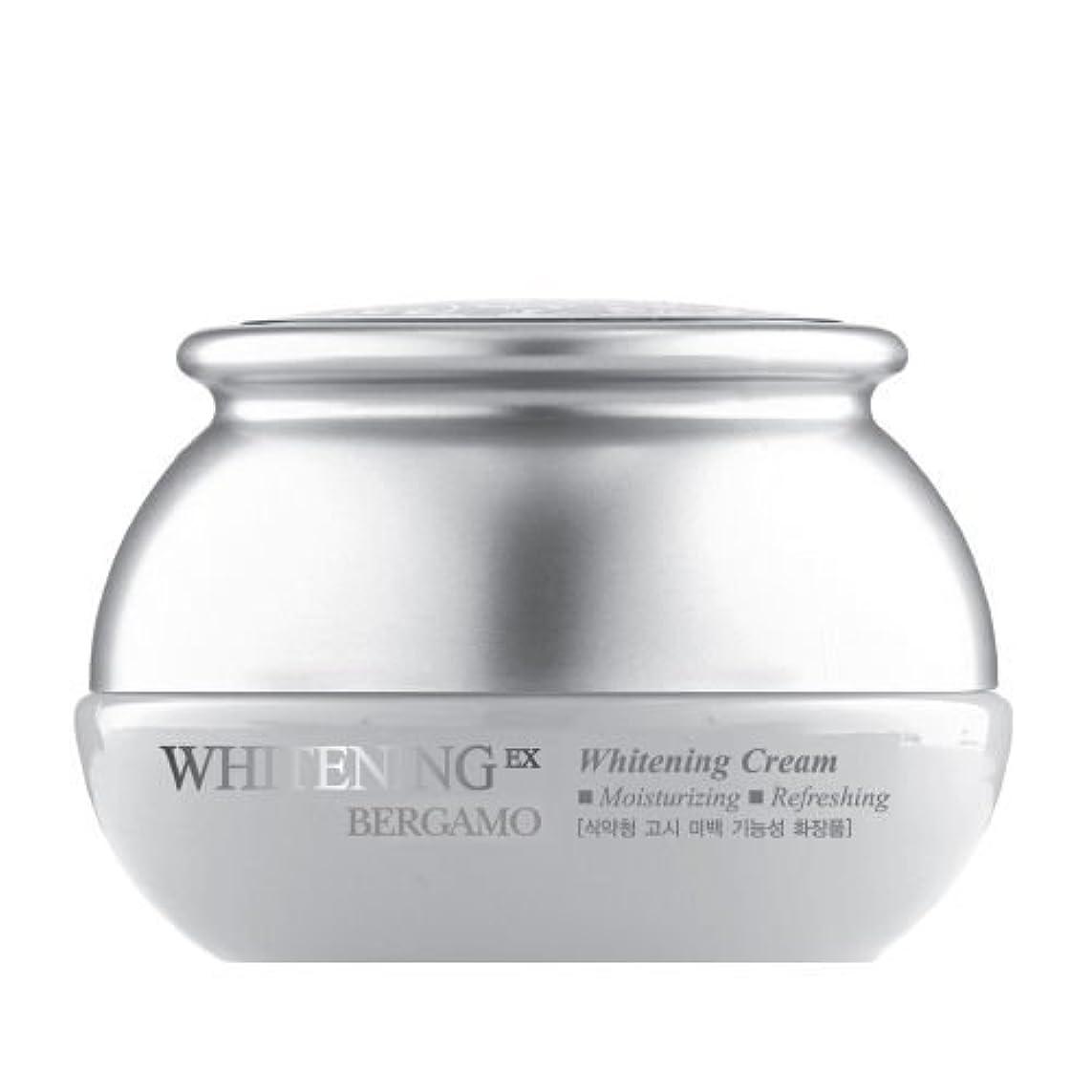 本質的に奇跡的な東ベルガモ[韓国コスメBergamo]Whitening EX Wrinkle Care Cream ホワイトニングEXリンクルケアクリーム50ml しわ管理 [並行輸入品]