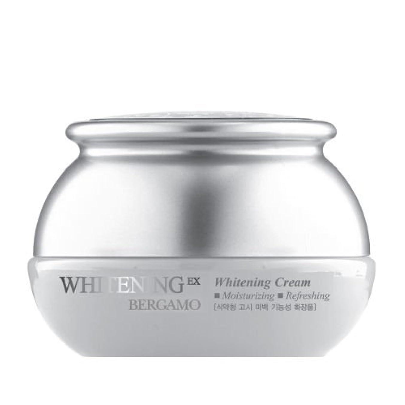 がんばり続けるサルベージケイ素ベルガモ[韓国コスメBergamo]Whitening EX Wrinkle Care Cream ホワイトニングEXリンクルケアクリーム50ml しわ管理 [並行輸入品]