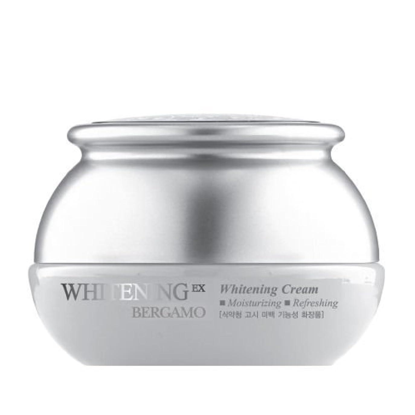 野ウサギ経験ライバルベルガモ[韓国コスメBergamo]Whitening EX Wrinkle Care Cream ホワイトニングEXリンクルケアクリーム50ml しわ管理 [並行輸入品]