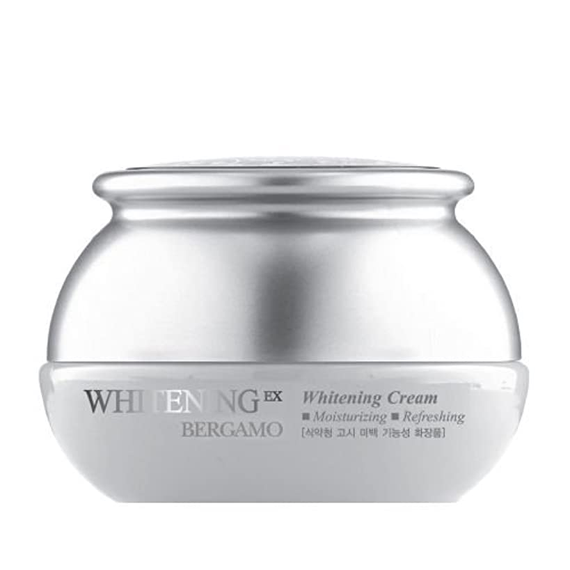ビット生き残り飛躍ベルガモ[韓国コスメBergamo]Whitening EX Wrinkle Care Cream ホワイトニングEXリンクルケアクリーム50ml しわ管理 [並行輸入品]