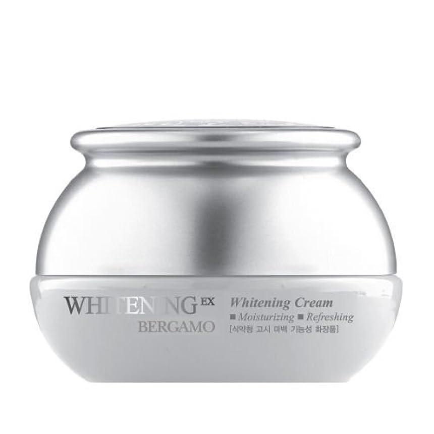 プレート気配りのあるコロニアルベルガモ[韓国コスメBergamo]Whitening EX Wrinkle Care Cream ホワイトニングEXリンクルケアクリーム50ml しわ管理 [並行輸入品]