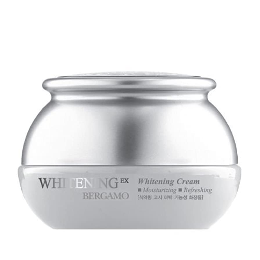 罪重要美しいベルガモ[韓国コスメBergamo]Whitening EX Wrinkle Care Cream ホワイトニングEXリンクルケアクリーム50ml しわ管理 [並行輸入品]