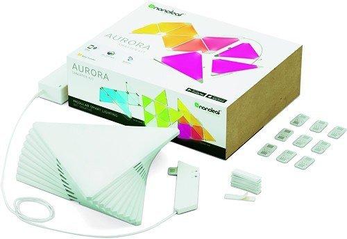 RoomClip商品情報 - Nanoleaf Aurora Smart Lighting Kits オーロラスマート照明キット [並行輸入品]