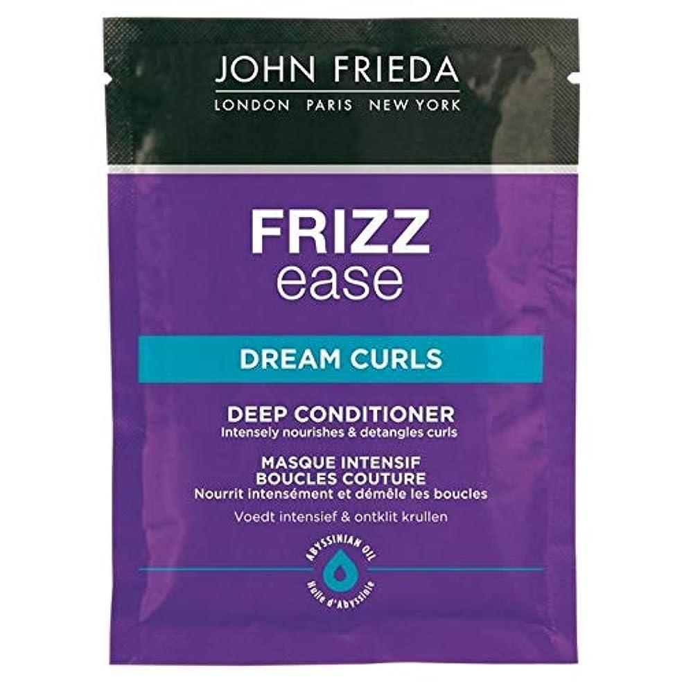 悪化させる午後用心[John Frieda ] ジョン?フリーダ縮れ容易夢のカールコンディショナー25ミリリットル - John Frieda Frizz Ease Dream Curls Conditioner 25ml [並行輸入品]