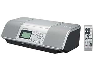 ケンウッド CD/SD/USBパーソナルオーディオシステム(シルバー) CLX-30-S