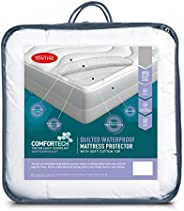 Tontine T6113 Comfortech Quilted Waterproof Mattress Protector,Single