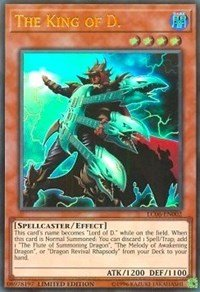 The King of D. - LC06-EN002 - Ultra Rare - Limited Edition - Legendary Collection Kaiba Mega Pack (Limited Edition)