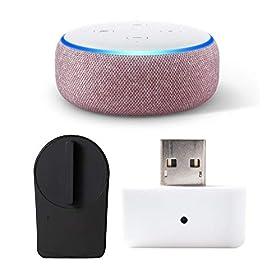 Echo Dot 第3世代 - スマートスピーカー with Alexa、プラム