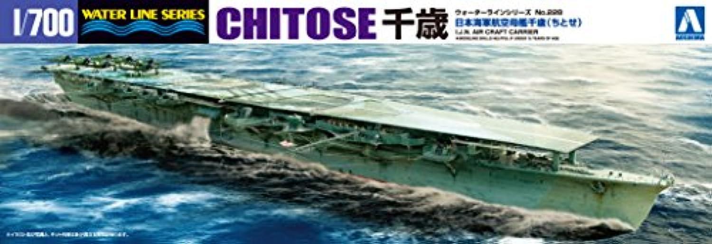 青島文化教材社 1/700 ウォーターラインシリーズ 日本海軍 航空母艦 千歳 プラモデル 228