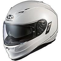 オージーケーカブト(OGK KABUTO)バイクヘルメット フルフェイス KAMUI2 パールホワイト (サイズ:XS)
