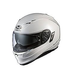 オージーケーカブト(OGK KABUTO)バイクヘルメット フルフェイス KAMUI2 パールホワイト (サイズ:XL)