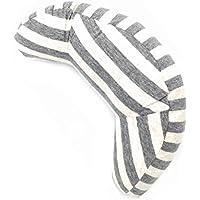 Orienex ネックピロー U型首まくら シートベルトクッション枕 頚部保護 子ども用 洗濯可能 旅行用品(グレイ)
