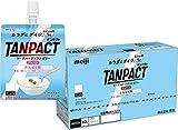 【ボール販売】明治 TANPACT ヨーグルトテイストゼリー プレーン 180g×6個