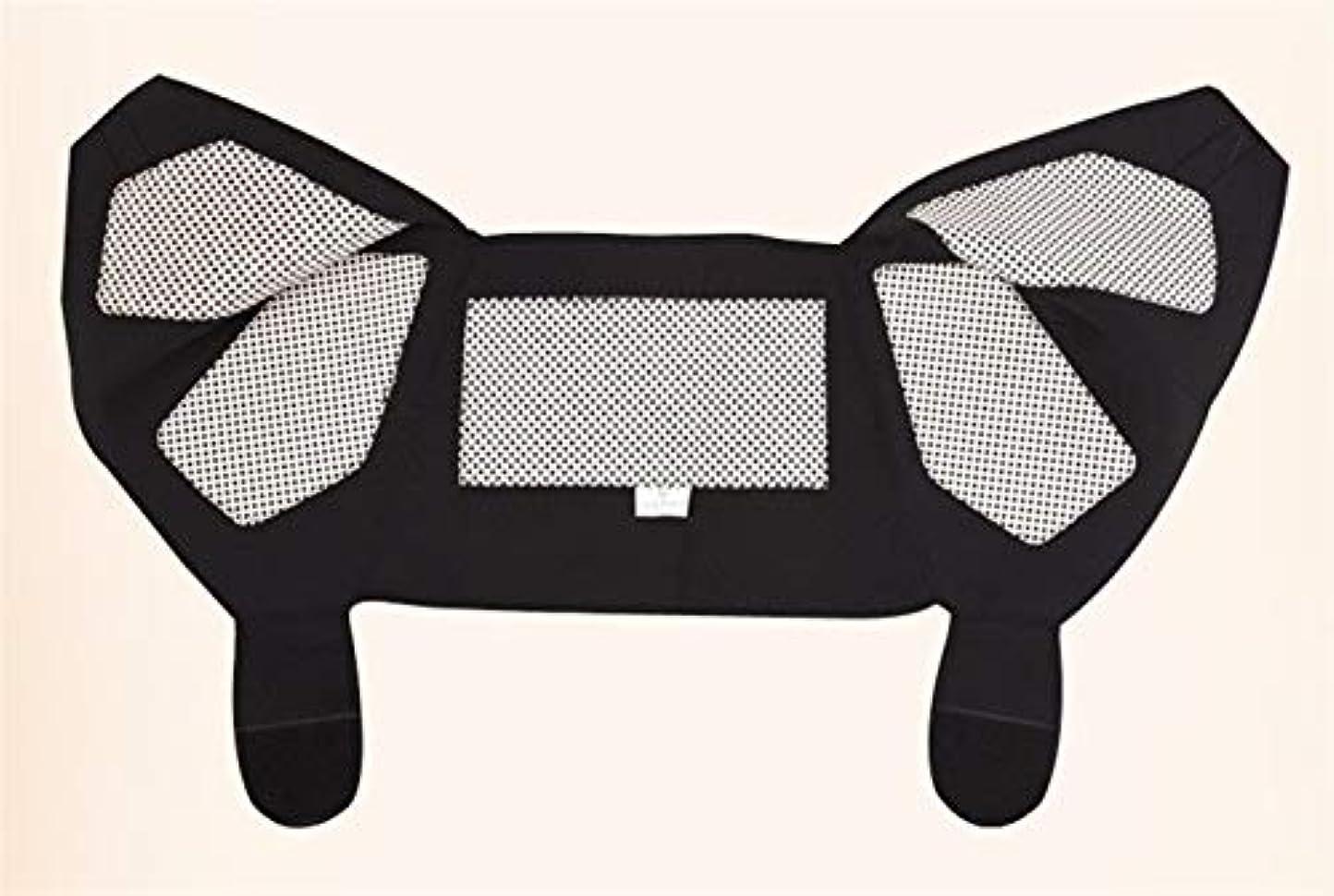Lucy Day 自己発熱ショルダーパッド健康ショルダーパッドトルマリン自己発熱ウォームショルダーパッド (色 : ブラック, Size : M)