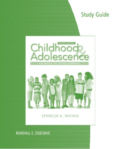 Download Childhood & Adolescence: Voyages in Development 0840032528