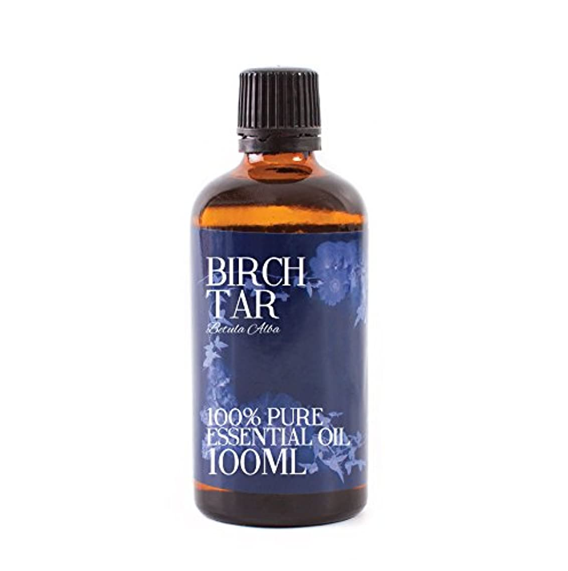粉砕する山積みのカウンターパートMystic Moments | Birch Tar Essential Oil - 100ml - 100% Pure