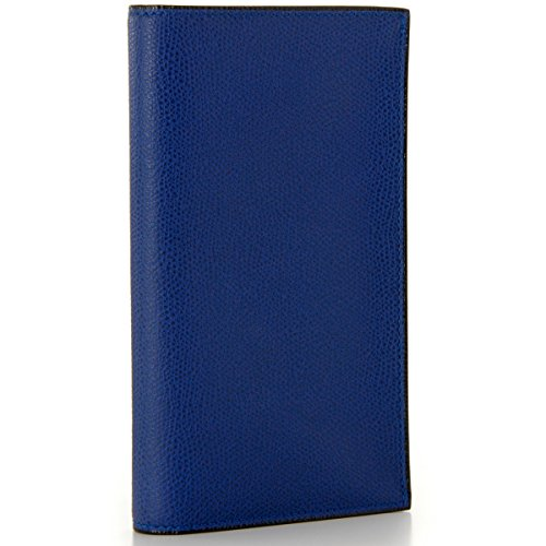 Valextra(ヴァレクストラ) 財布 メンズ グレインレザー 2つ折り長財布 ロイヤルブルー V8L70-028-00RORD[並行輸入品]
