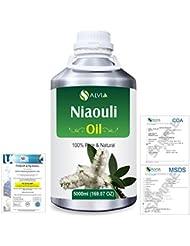 Niaouli (Melaleuca Viridiflora) 100% Natural Pure Essential Oil 5000ml/169fl.oz.